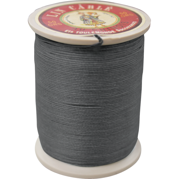 Fil Au Chinois Waxed Linen Thread 332 42#872 Slate 0.77mmX133M