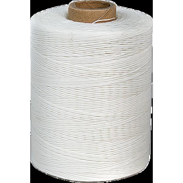 手縫尼龍線捲 白 500YD 含蠟 不折扣