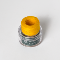 INDIAN Waxed Cotton Thread Yellow 0.5mmX35M