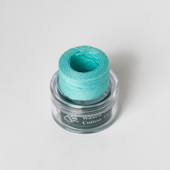 INDIAN Waxed Cotton Thread Baby Blue 0.5mmX35M