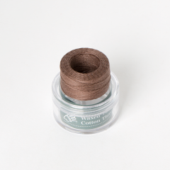 INDIAN Waxed Cotton Thread Light Brown 0.5mmX35M
