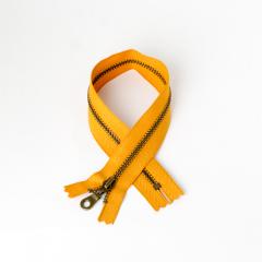 3號古銅拉鍊 黃棕 30cm