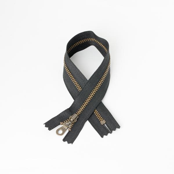 3號古銅拉鍊 黑 30cm