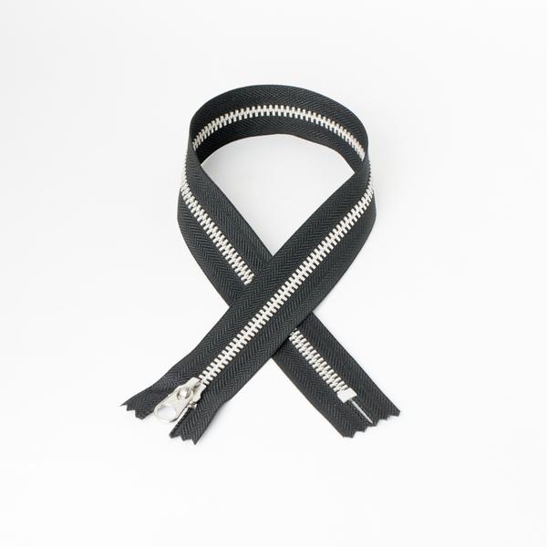 3號鋁拉鍊 黑 30cm