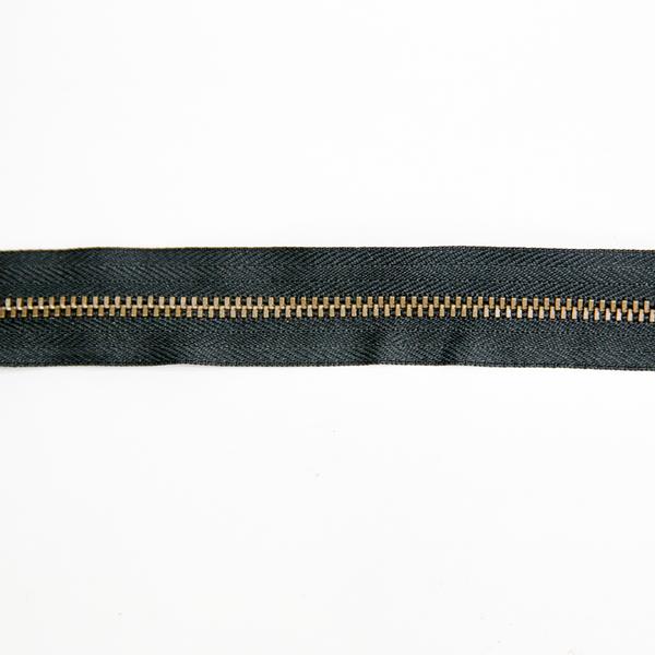 3號百碼古銅拉鍊 黑 90cm