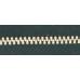 3號百碼鋁拉鍊 黑 90cm