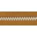 5號百碼鋁拉鍊 棕 90cm