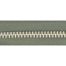 5號百碼鋁拉鍊 綠 90cm