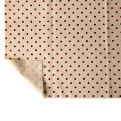 Canvas Cotton Red-Dots