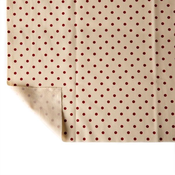 米底紅點防水帆布 全棉 不二價