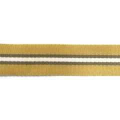 混紡尼龍緞面織帶 卡其/灰/白 3.0cm