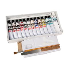 ADD修護壓克力組 含10色染色3色補劑繪具