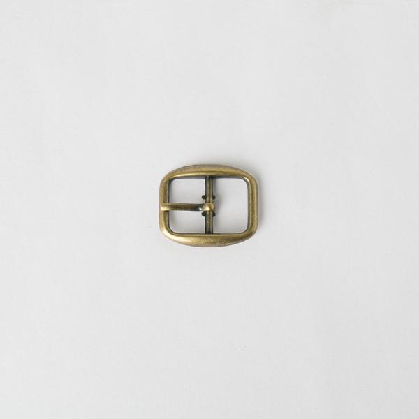 日型皮帶頭 古銅色 1.2cm