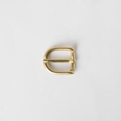 純銅皮帶頭 黃銅色 1.5cm