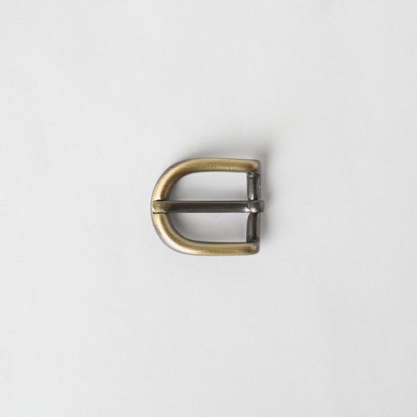 純銅皮帶頭 銅色 1.5cm