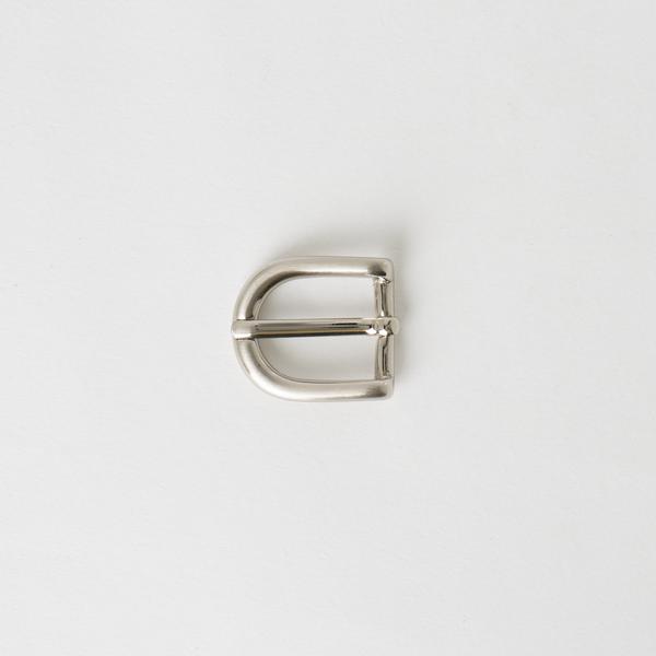 純銅皮帶頭 鎳白色 1.5cm