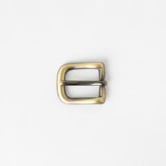 純銅皮帶頭 古銅色 1.5cm