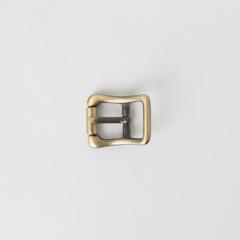 純銅日型皮帶頭 青古銅色 1.5cm