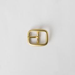 Solid Brass Center Bar Buckle 1.5cm