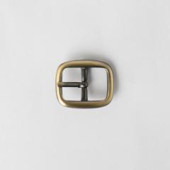 純銅日型皮帶頭 古銅色 1.5cm