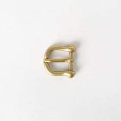 日製D型皮帶頭 黃銅色 1.5cm 售完為止