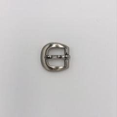 鋅合金帶頭 鎳白色 1.5cm