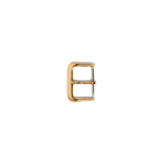 Zinc Alloy Buckle Gold Color 1.6cm