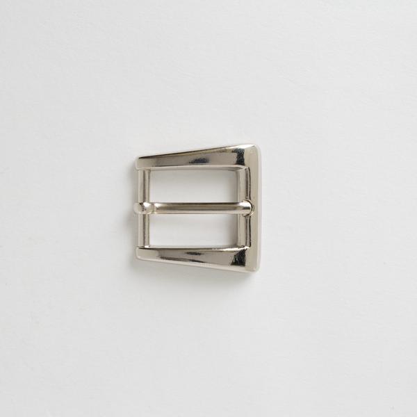 精鍍皮帶頭 鎳白色 1.8cm