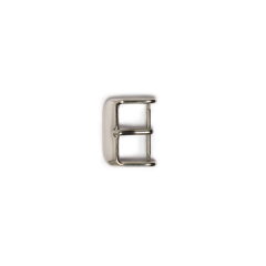 Stainless Watchstrap Buckle Nickel 1.8cm