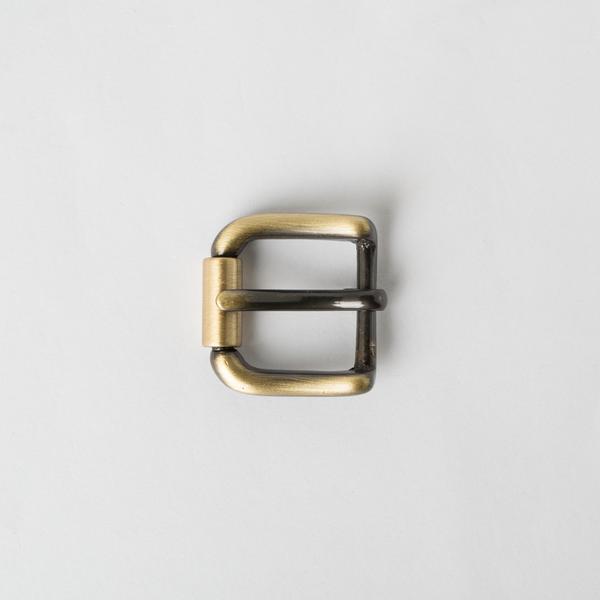 純銅皮帶頭 古銅色 2.0cm