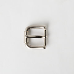 Solid Brass Buckle Nickel Color 2.0cm