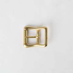 純銅皮帶頭 黃銅色 2.0cm