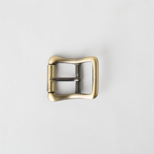 純銅皮帶頭 青古銅色 2.0cm