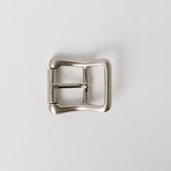 純銅皮帶頭 鎳白色 2.0cm