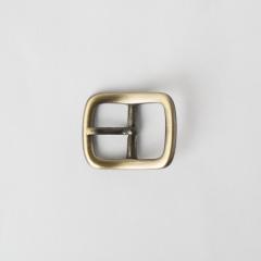 純銅日型皮帶頭 青古銅色 2.0cm