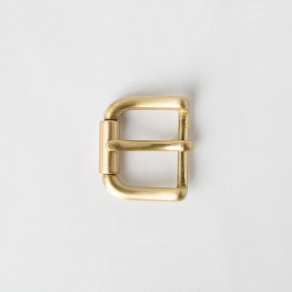 純銅皮帶頭 黃銅色 2.5cm
