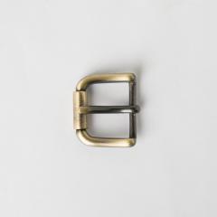 純銅皮帶頭 古銅色 2.5cm