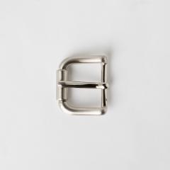 純銅皮帶頭 鎳白色 2.5cm