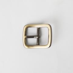 純銅日型皮帶頭 青古銅色 2.5cm