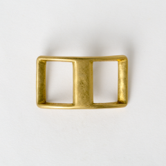 純銅日型活動鉤環 黃銅色 2.5cm