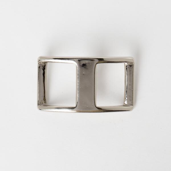 純銅日型活動鉤環 鎳白色 2.5cm
