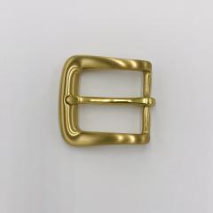 銅製皮帶頭 黃銅色 3cm