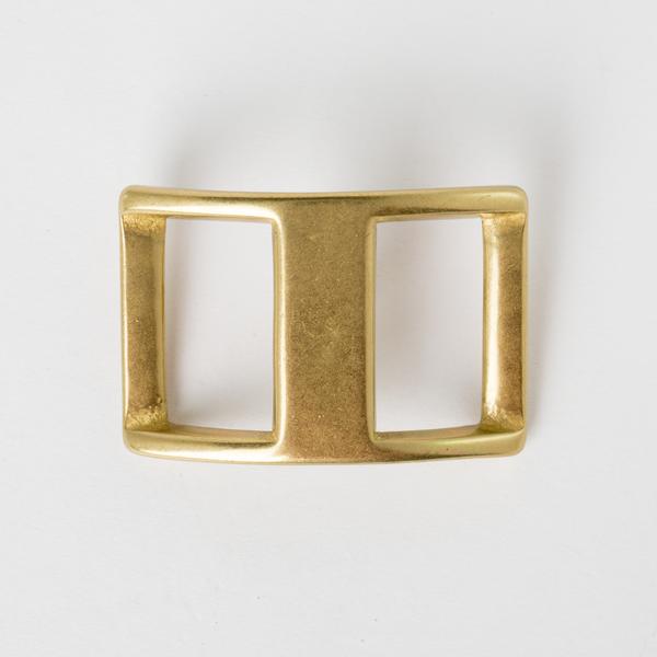 純銅日型活動鉤環 黃銅色 3cm