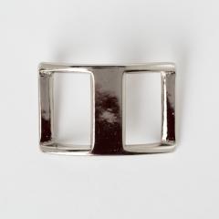 純銅日型活動鉤環 鎳白色 3cm