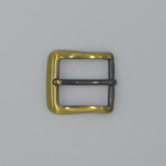 純銅皮帶頭 古銅色 3cm