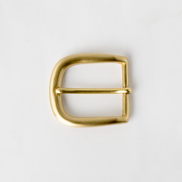 銅製皮帶頭 黃銅色 3.5cm