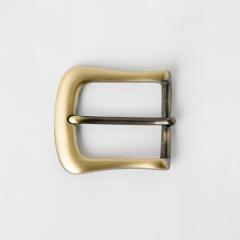 銅製皮帶頭 古銅色 3.5cm