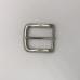 銅製皮帶頭 鎳白色 3.5cm