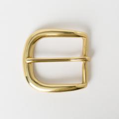 銅製皮帶頭 黃銅色3.8cm