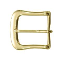 銅製皮帶頭 黃銅色 4cm